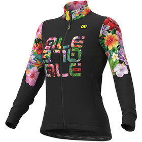 Alé Cycling Solid Alé Lab Flowers Jersey Dames, black